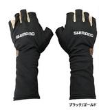 シマノ MSサンシェードグローブ5 GL-007N ブラック/ゴールド
