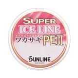 サンライン スーパーアイスライン ワカサギPEII 60m 0.2号/0.25号